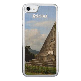 Stirling Scotland Carved iPhone 8/7 Case
