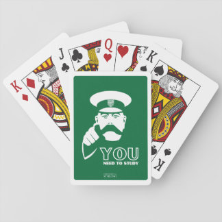 Stirling University Student Study Playing Cards