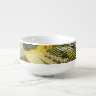 Stitch Bird Semi-Abstract Soup Mug