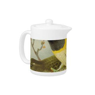 Stitch Bird Semi-Abstract Teapot