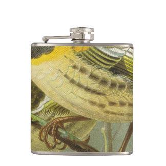 Stitch Birds Semi-Abstract Flasks