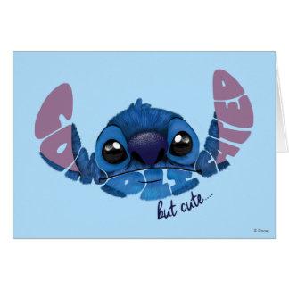 Stitch   Complicated But Cute 2 Card