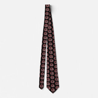 Stitch of Red Circles Tie