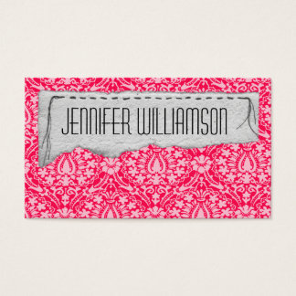 Stitched Collage Unique Business Cards