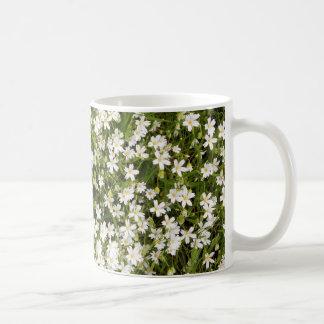 Stitchwort Stellaria Wild Flowers Coffee Mug
