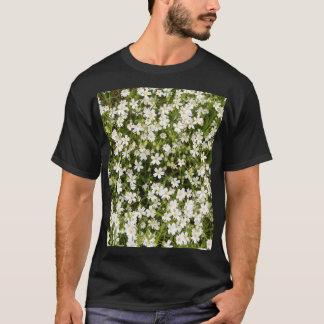 Stitchwort Stellaria Wild Flowers Men's T-Shirt