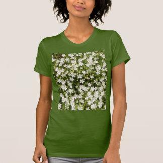Stitchwort Stellaria Wild Flowers Women's T Shirt