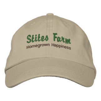 Stites Farm Cap Embroidered Hats