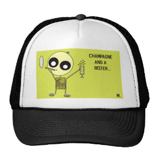 STIX: Chamagne and a Reefer Hats