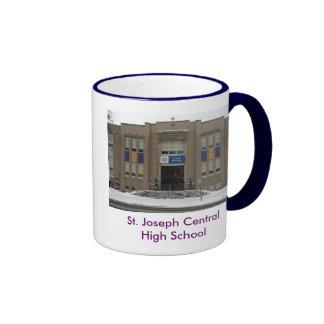 stjoeschoolsmall, St. Joseph Central High School Coffee Mug