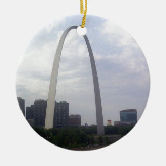STL ARCH CERAMIC ORNAMENT