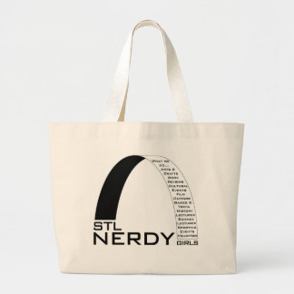 STL Nerdy Girls Tote Jumbo Tote Bag