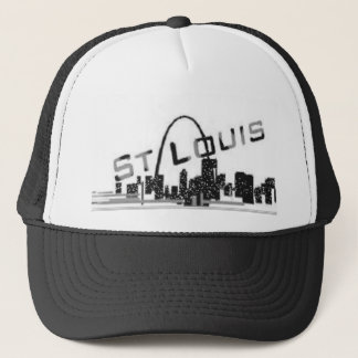 STL Riverfront view Trucker Hat