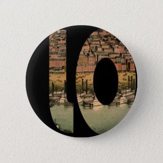 stlouis1859 6 cm round badge