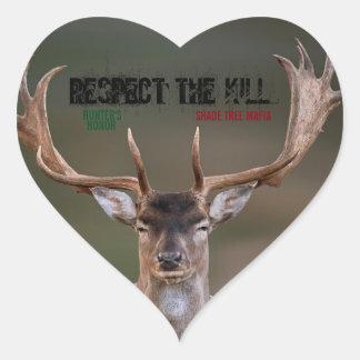 STM/HUNTER'S HONOR: RESPECT THE KILL STICKER