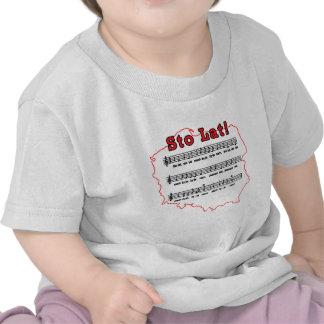 Sto Lat Song Polish Map Shirt