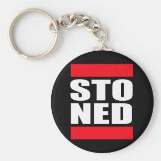 STO NED BASIC ROUND BUTTON KEY RING