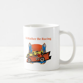 Stock Car Racing Coffee Mug