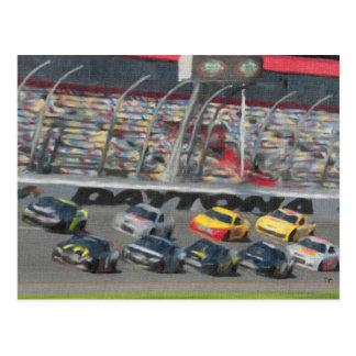 Stock Car Racing Post Cards