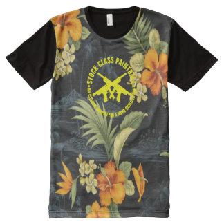 Stock Class Paintball Hawaiian Aloha Tropical All-Over Print T-Shirt