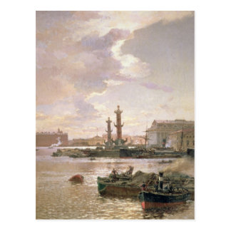 Stock Exchange in St. Petersburg, 1891 Postcard
