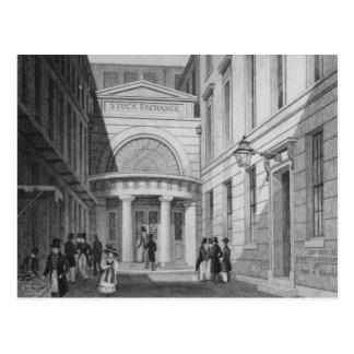 Stock Exchange, London, from 'Metropolitan Postcard