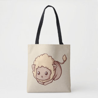 Stock market Adorable Leon Tote Bag