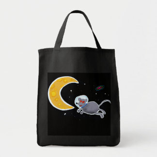 Stock market Bag - Mouse in Space