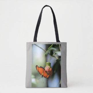 STOCK MARKET BUTTERFLY MOD 1 TOTE BAG