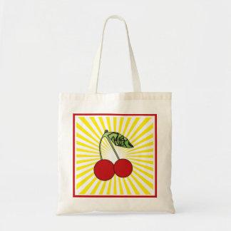 Stock market Cherry POP Tote Bag
