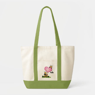 """Stock market """"Couple of bees """" Impulse Tote Bag"""