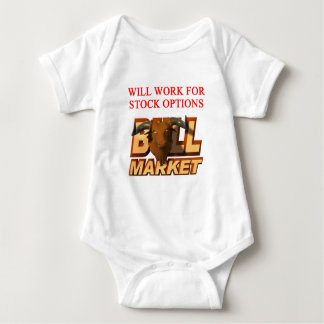 STOCK market cramer joke Baby Bodysuit