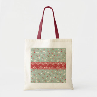 Stock market, flowers and coffee pots bag