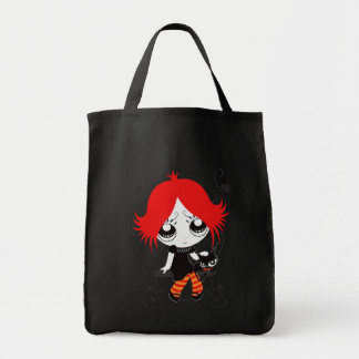 """Stock market """"Halley """" Grocery Tote Bag"""