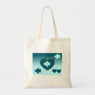 Stock market hearts and you shoot with an arrow tote bag