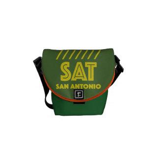 STOCK MARKET I MINE SAN ANTONIO MESSENGER BAG