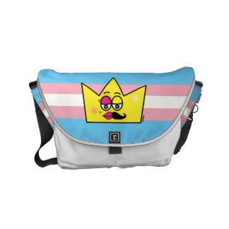 Stock market Messenger - Transgênero Transexual Courier Bag