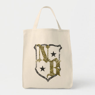 """Stock market """"NB """" Grocery Tote Bag"""