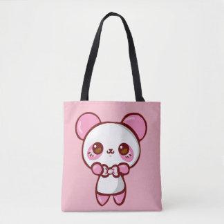 Stock market Panda Rosa Tote Bag