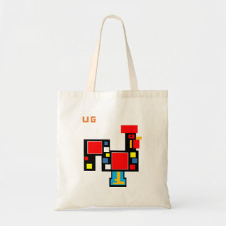 Stock market Rooster Portuguese UG3 Tote Bag
