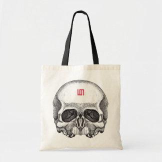 "Stock market ""Skull "" Budget Tote Bag"