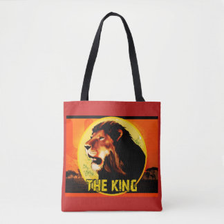 Stock market The King Tote Bag