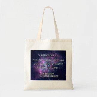 Stock market the universe is… budget tote bag