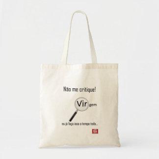 "Stock market ""Virgin Criticizes me "" Budget Tote Bag"