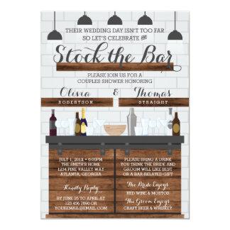 Stock the Bar Shower, Farmhouse Style Card