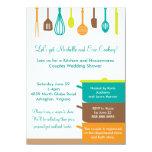 Stock the Kitchen Bridal Wedding Couples Shower 11 Cm X 16 Cm Invitation Card
