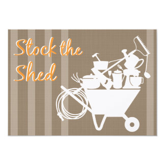 Stock the Shed | Wedding Shower Invitation