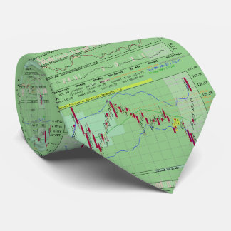 Stock trader tie