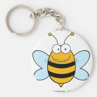 stock-vector-bee-mascot-cartoon-character-74626567 keychain