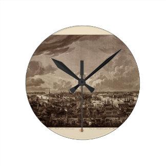 Stockholm 1805 round clock